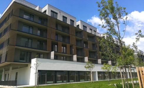 Na predaj 1 izbový byt s terasou v novostavbe Slnečnice – zóna Viladomy